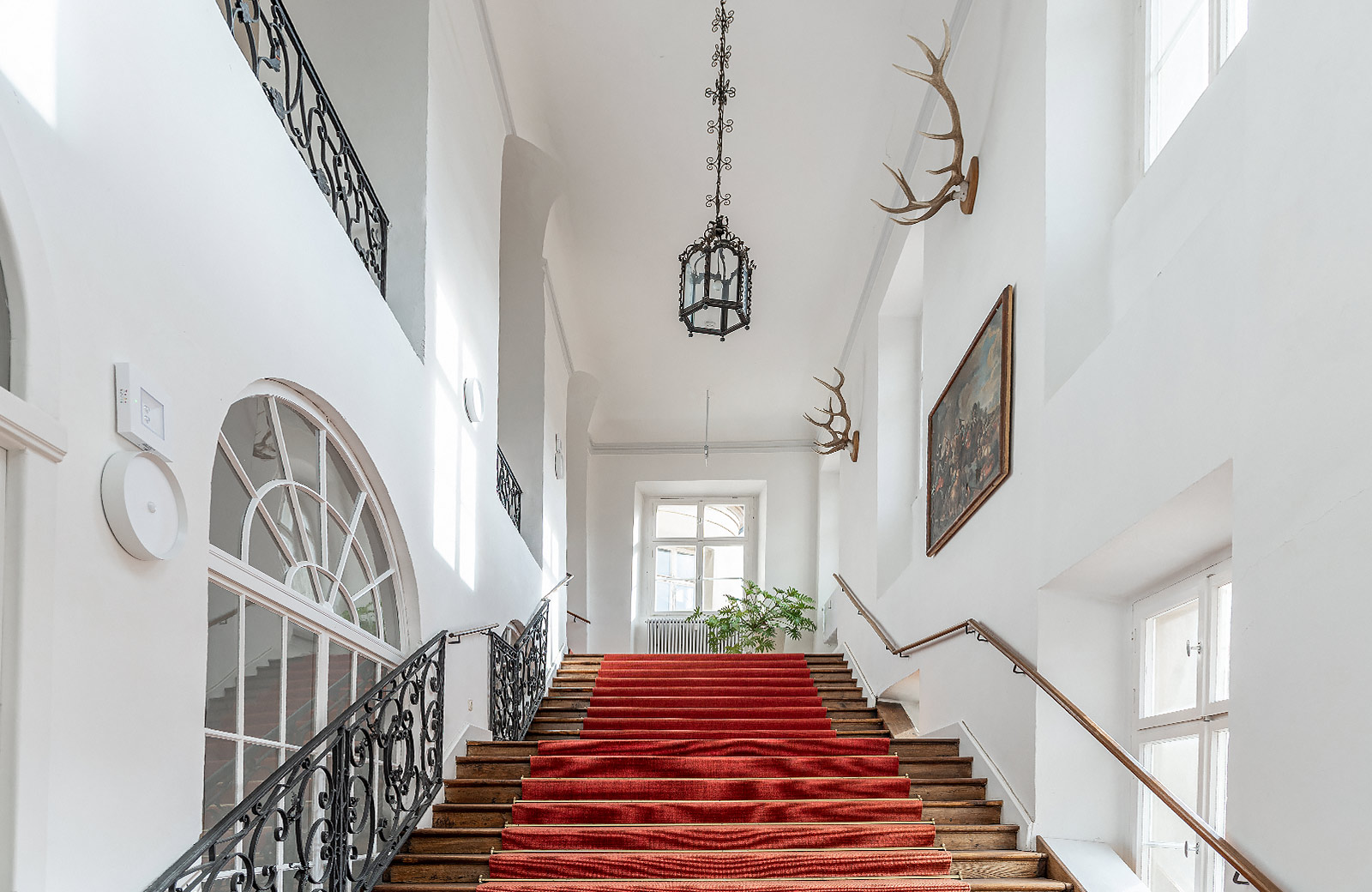 Barockes Treppenhaus Erdgeschoss