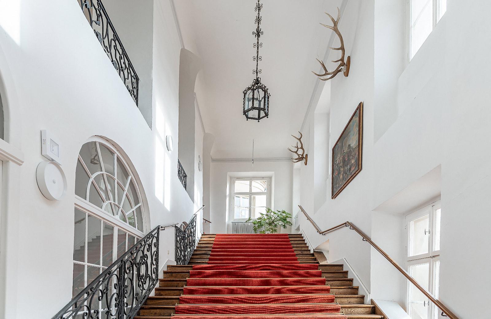 Baroque staircase ground floor