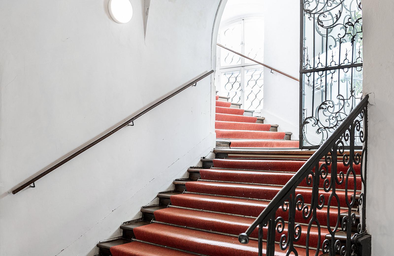 Zugang Erdgeschoss zum Treppenhaus